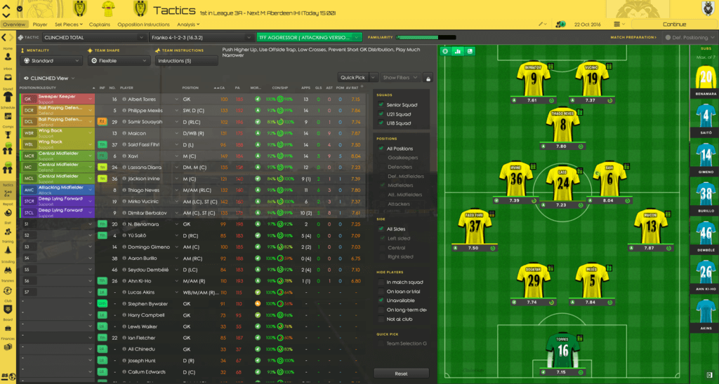 Clinched (FM2017) 2C2TD