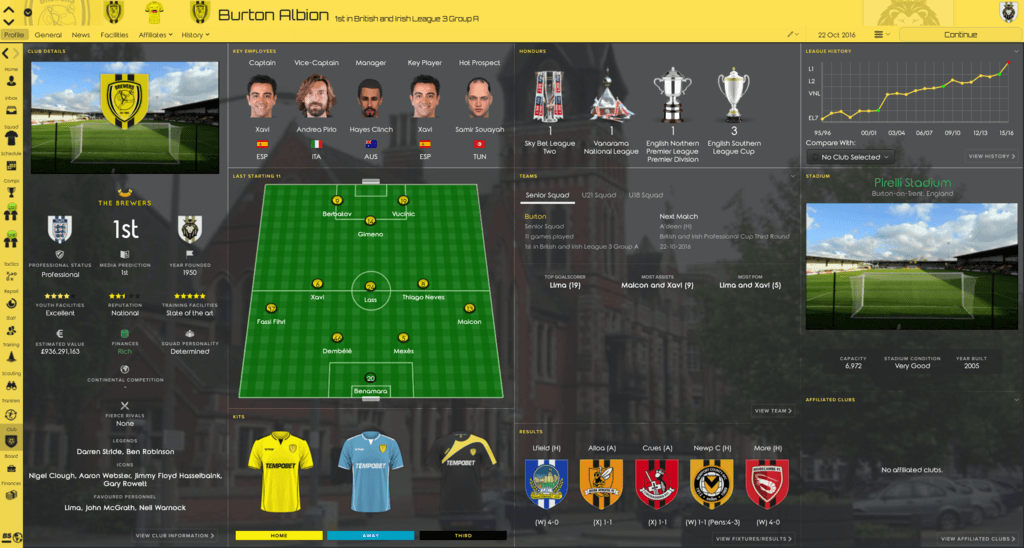 Clinched (FM2017) 2CRIN
