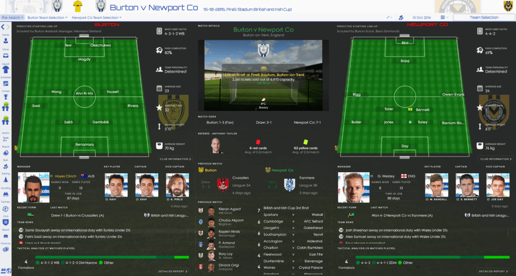 Clinched (FM2017) 2CaWS