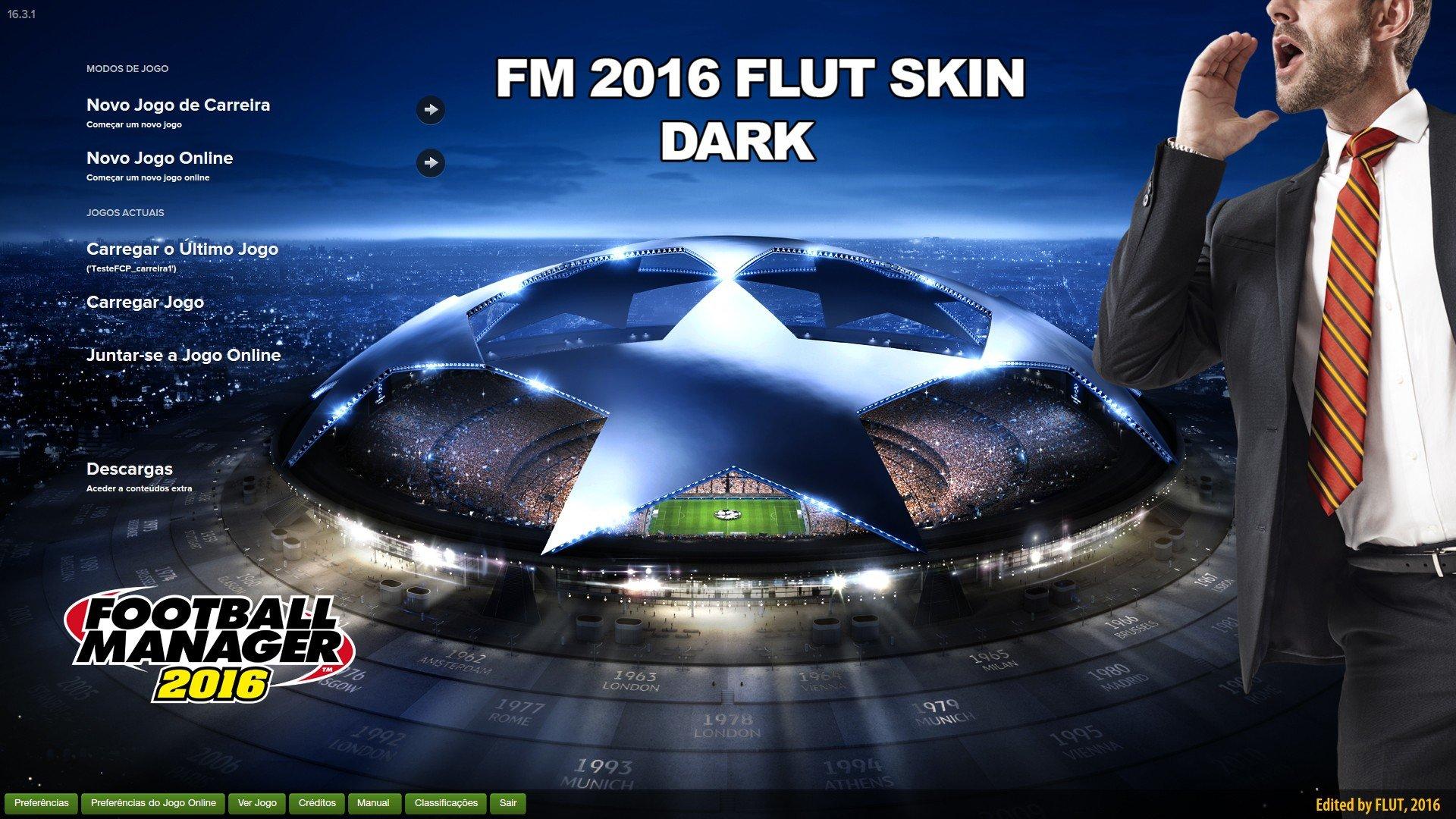 FLUT dark skin v2.1 (FM2016) 3bLZN