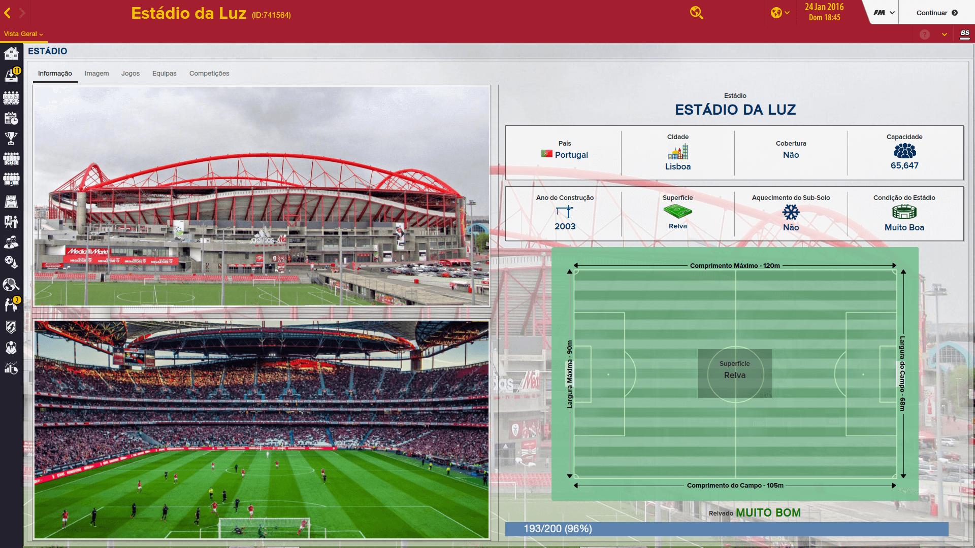 Cidades e Estádios Portugueses [FM2016] WamOS