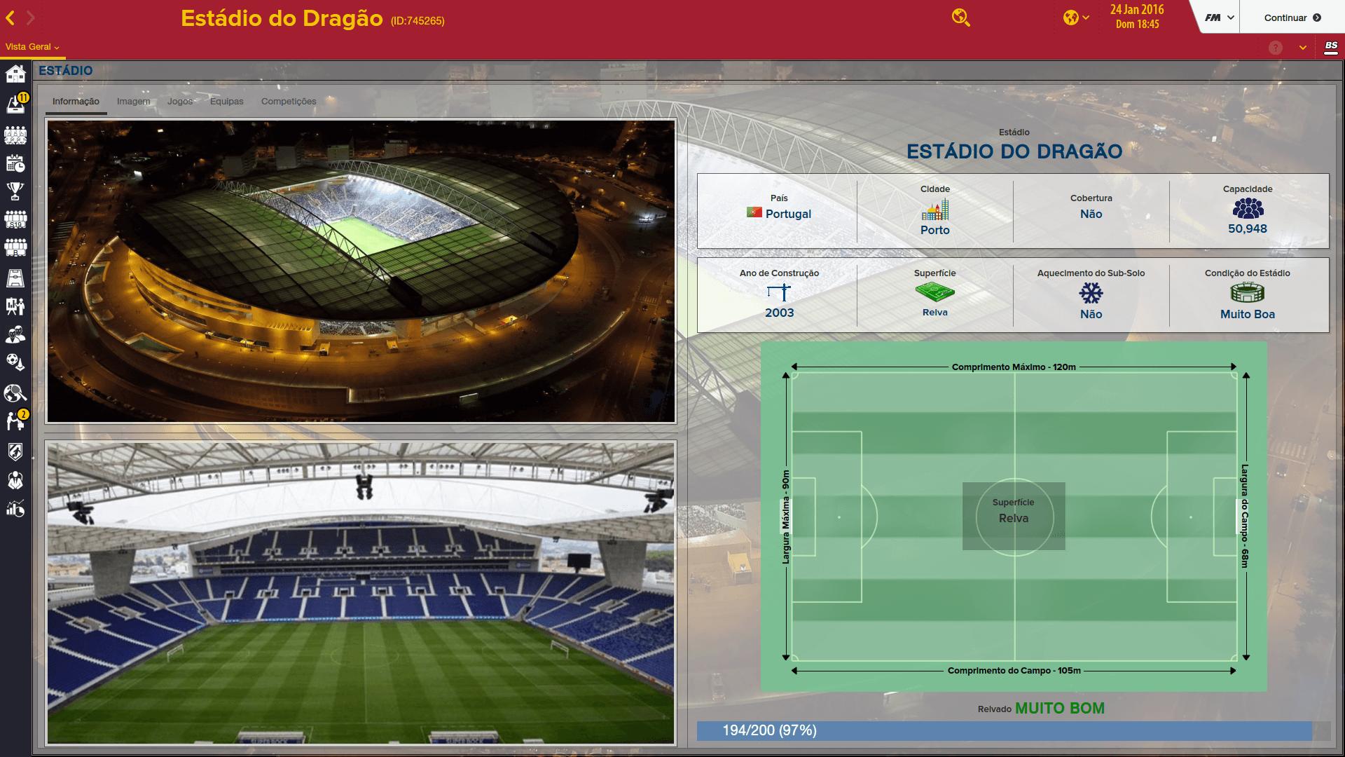 Cidades e Estádios Portugueses [FM2016] Watzt