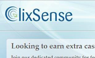 Top mejores formas de ganar dinero con Internet Clixsense-Logo-Font