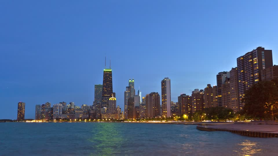 No Curvature On Bodies Of Water   880313337-sears-tower-lake-michigan-chicago-light-pollution