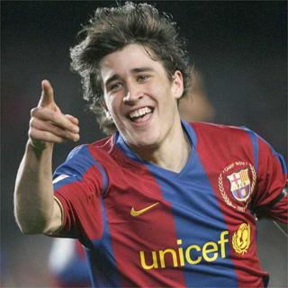 Lojtaret e Barcelones Bojan-krkic-gol