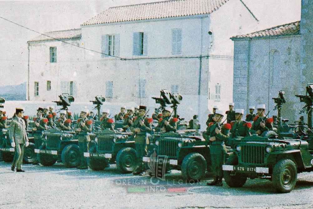Des  images légion en  Corse et  ailleur 09sep-1982-2rei-bonifacio