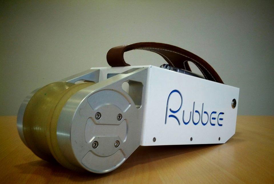 Kit tipo velosolex de contacto directo con la cubierta; la forma más sencilla de electrificar tu bicicleta Rubbee-5