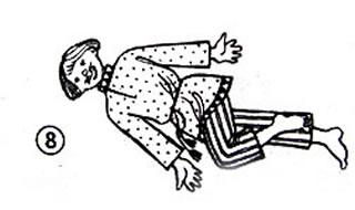 Комплекс статической гимнастики «лежебока» Lezheboka8