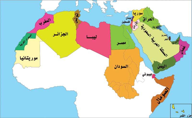 خريطة   العالم العربي  Travel_photo_tours_1382039970_174