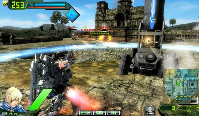 Border Break - Sega Network Robot Wars Bb05