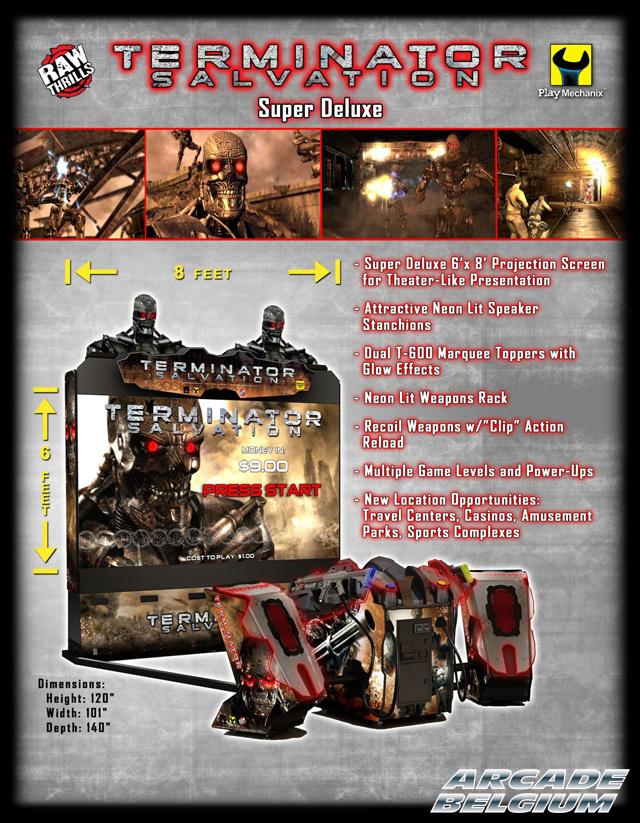 Terminator Salvation Flytssdx