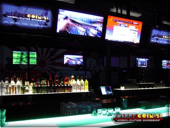 Insert Coin(s) Videolounge Gamebar (Las Vegas) Iclv04
