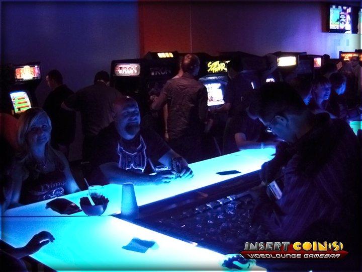 Insert Coin(s) Videolounge Gamebar (Las Vegas) Iclv12