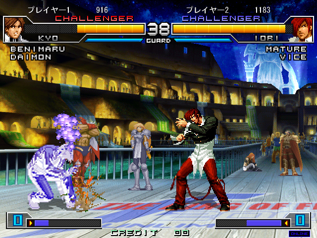 The King of Fighters 2002 Unlimited Match for NESiCAxLive Kof2002umnxl03