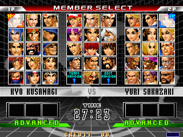 The King of Fighters '98 Ultimate Match Final Edition Kof98umfe01