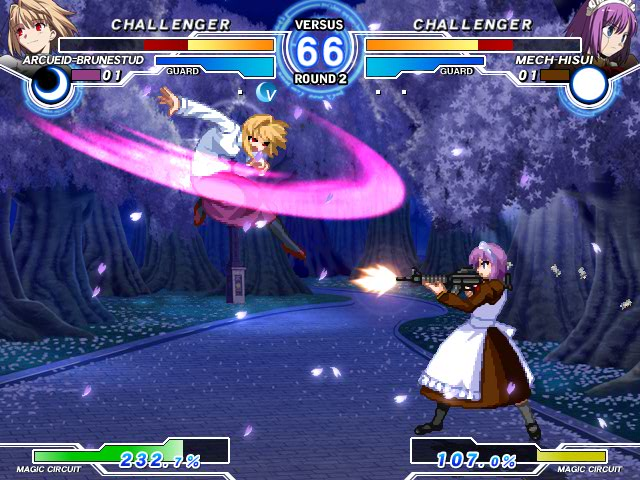 MELTY BLOOD Actress Again Current Code Mbaacc04