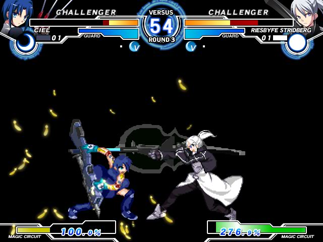 MELTY BLOOD Actress Again Current Code Mbaacc05