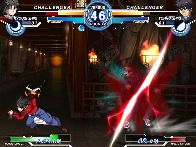 MELTY BLOOD Actress Again Current Code Mbaacc08