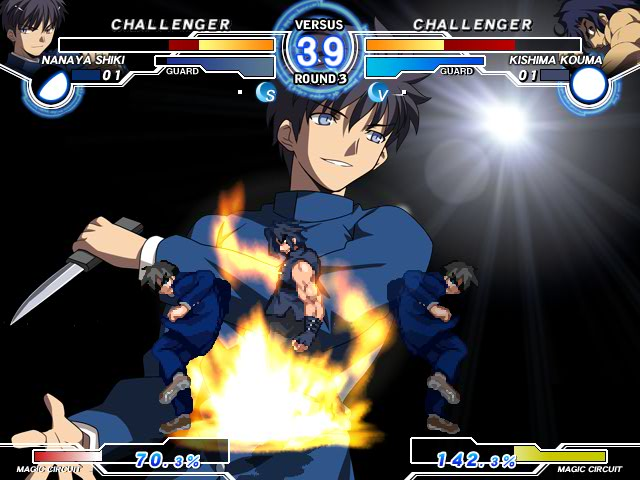 MELTY BLOOD Actress Again Current Code Mbaacc09