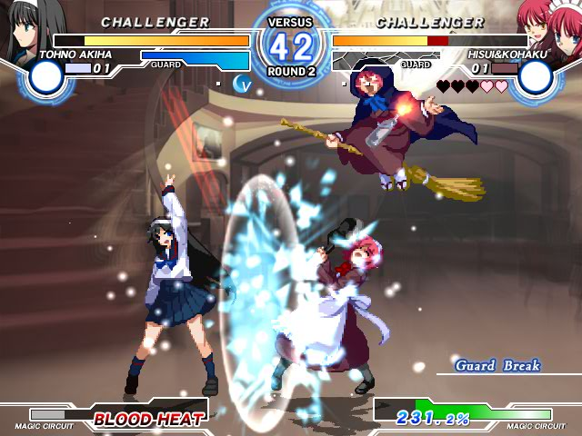 MELTY BLOOD Actress Again Current Code Mbaacc10