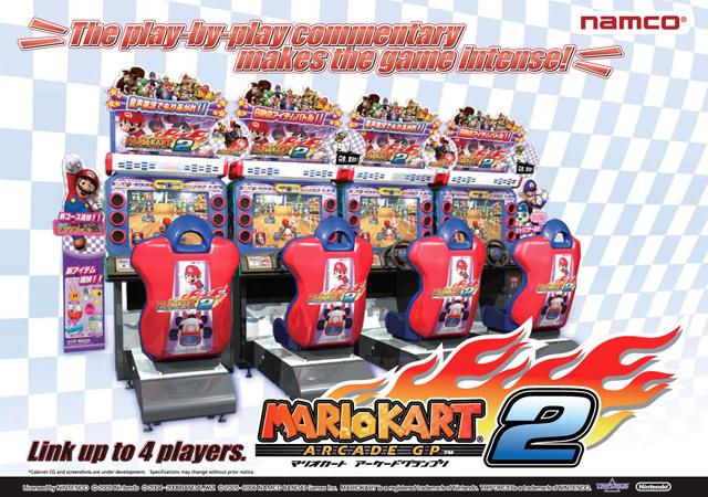 Mario Kart Arcade GP 2 Mkagp2a