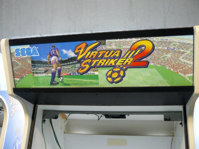 [A Vendre / For Sale] Bornes Virtua Striker 2 vides (empty) Vs2