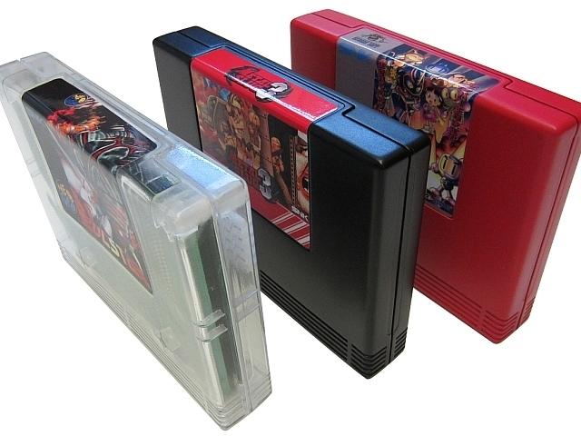 Omega Neo-Geo MVS cartridge shells Omegamvs