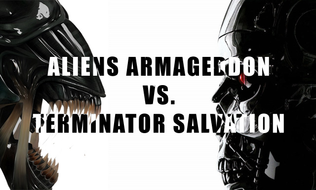 Aliens Armageddon vs. Terminator Salvation Avst