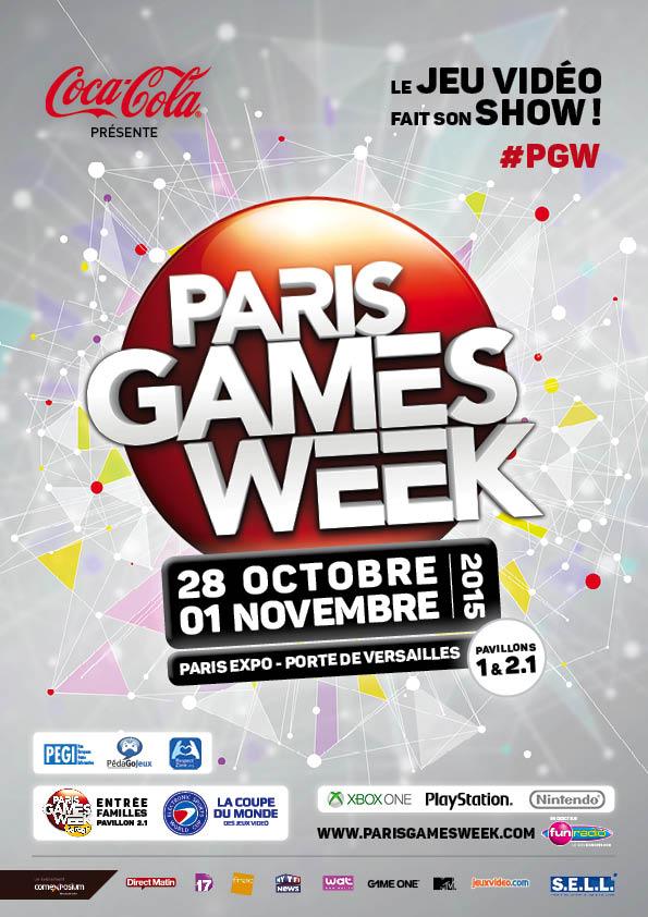 Paris Games Week (28/10-01/11/2015 - Paris Expo, France)   Pgw2015