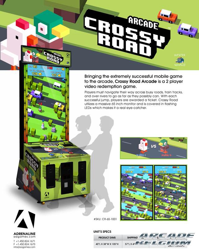 Crossy Road Arcade Cra_flyer