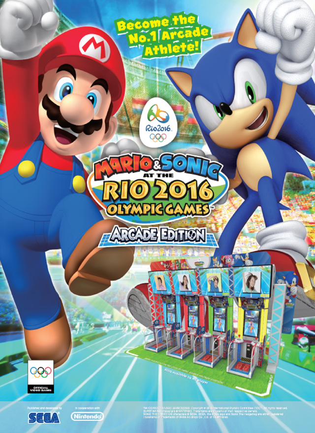 Mario & Sonic at the Rio 2016 Olympic Games Arcade Edition Msrio_08