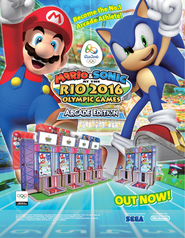 Mario & Sonic at the Rio 2016 Olympic Games Arcade Edition Msrio_09