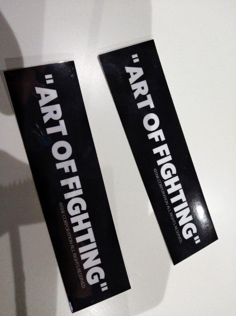 Garou Densetsu - Art of Fighting Art Exhibition Aofex_08