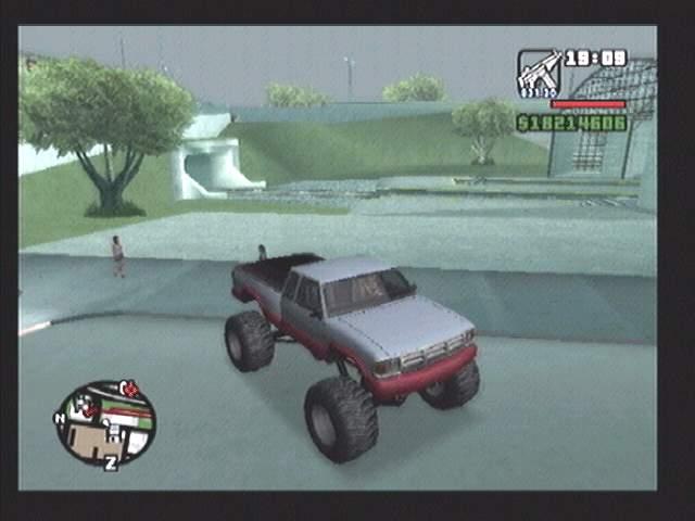 لعبة جي تي اي GTA Xtreme Monster