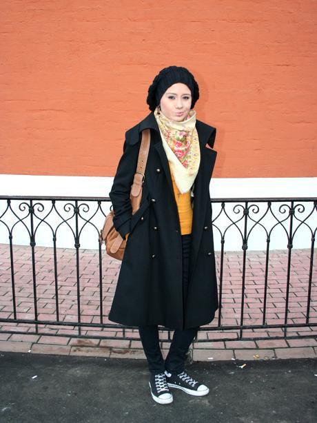 Варианты повязывания и ношения павловопосадских платков. Как носить платки. Как завязать платок. Post-22396-1237818119