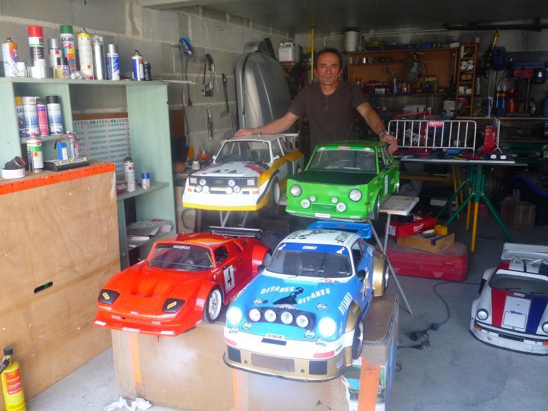 Erik : carrossier voitures miniatures , artisan formeur de tôle Erik_collec_19