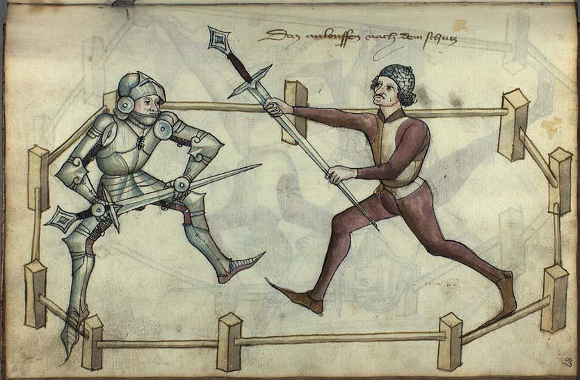 Section Escrime Médiévale de la salle d'Armes de la Tour d'Auvergne