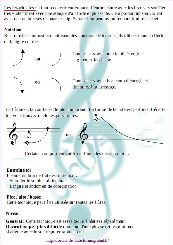 10) JET WHISTLE (Son de sifflet) Jet-whistle
