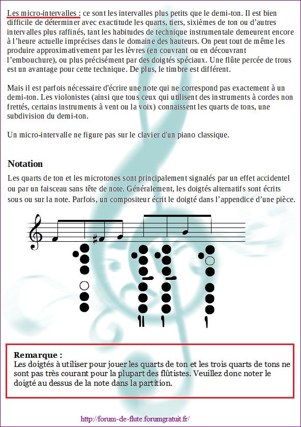 12) QUART DE TON ET TROIS QUART DE TON Micro-intervalles1