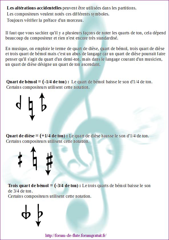 12) QUART DE TON ET TROIS QUART DE TON Micro-intervalles2