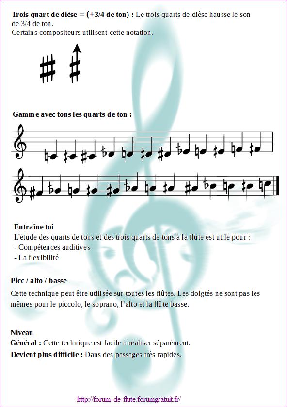 12) QUART DE TON ET TROIS QUART DE TON Micro-intervalles3