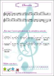 Exercices progressifs pour flûte en Do et FA.