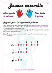 Jeux pour apprendre le rythme et le tempo