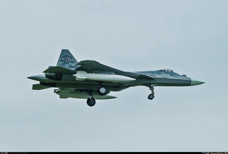 مقاتله Sukhoi T-50 PAK FA سيتغير اسمها الى Su-57  150506393617199734