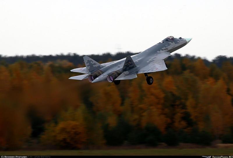 مقاتله Sukhoi T-50 PAK FA سيتغير اسمها الى Su-57  - صفحة 2 150757849841398559