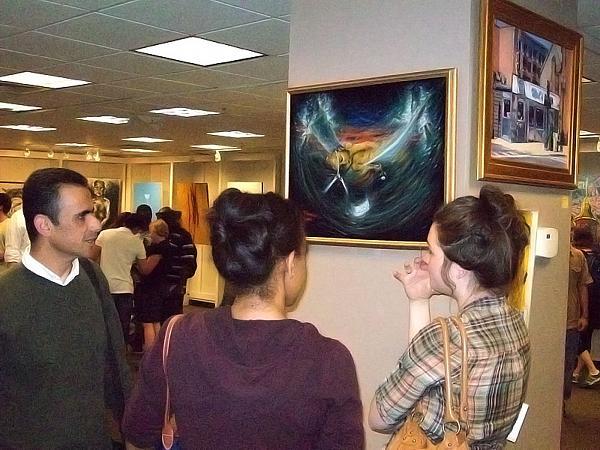 لوحات الرسام المبدع ثائر شفيق الفلسطيــني في الولايات المتحدة 837d4a2351f0a313f8eb96477b1b4e3d