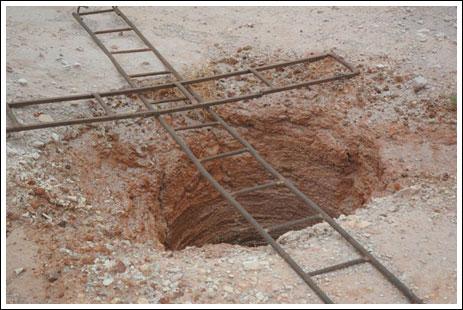 شاب يحفر بئر تحت الارض للزواج 206592_01267183251