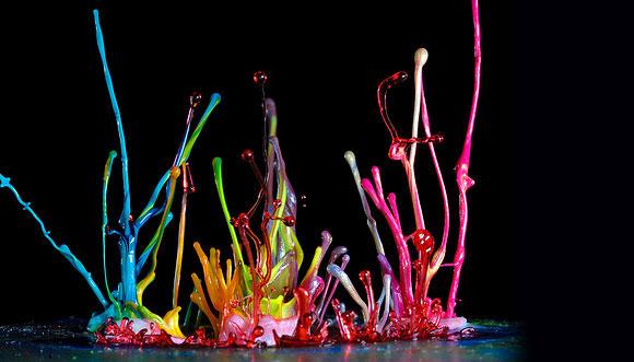 فن التصوير السريع أثناء إلقاء قطرات من الطلاء - ادخل وشووف الرووعة والجماال 495473_01272456796