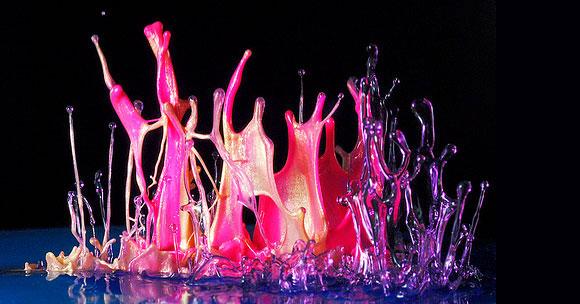 فن التصوير السريع أثناء إلقاء قطرات من الطلاء - ادخل وشووف الرووعة والجماال 495473_01272456953