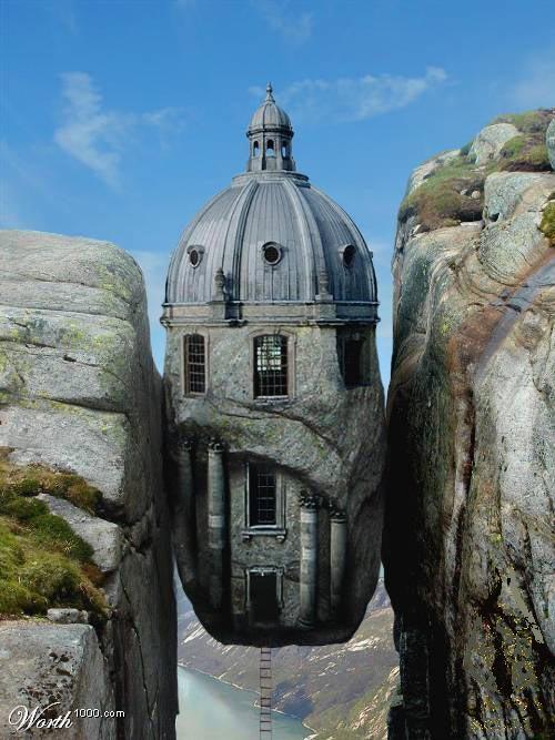 منازل غريبة جدااا.......وكمان بتخوووف 178380_11197814482